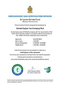 Šri Lankos klimato fondo pateikta šiltnamio efektą sukeliančių dujų patikros ataskaita