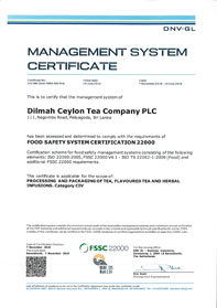 FSSC 22000 – Food Safety System Certification