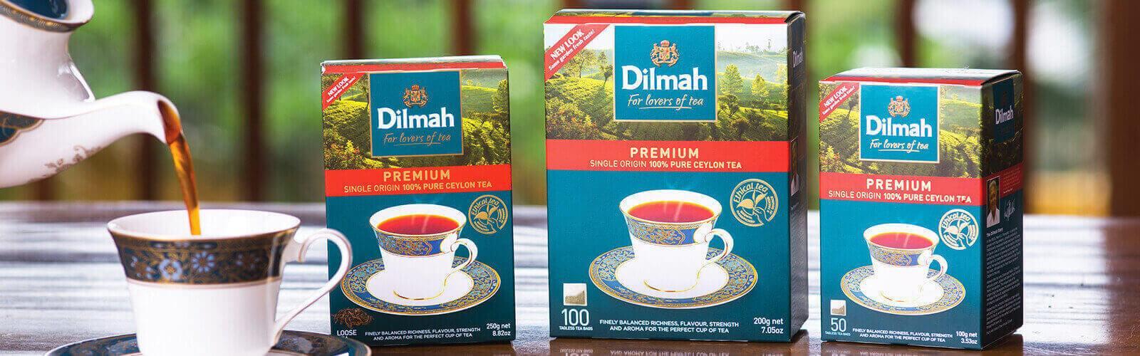 Dilmah arbata įkvėpė